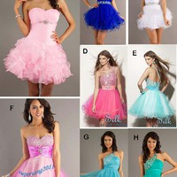 Girl's Mini Homecoming Prom Party Pageant dresses Cocktail Evening dress Formal