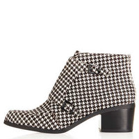 ACUTE Dogtooth Monk Boot - Boots  - Shoes