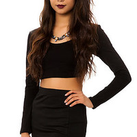 *MKL Collective Mini Skirt The Strappy Bodycon in Black