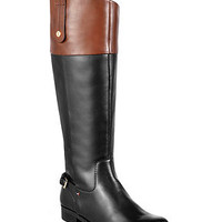 Tommy Hilfiger Hamden Tall Riding Boots - Boots - Shoes - Macy's
