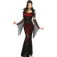 Sexy Adult Halloween Costumes Vampire Costume Long Dress