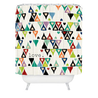 DENY Designs Home Accessories | Sharon Turner Love 3 Shower Curtain