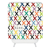 DENY Designs Home Accessories | Sharon Turner Kiss Shower Curtain