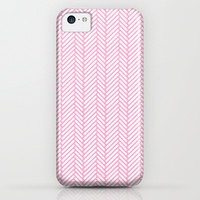 Herringbone Pink iPhone & iPod Case by Project M
