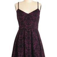 Scenic Designer Dress in Burgundy | Mod Retro Vintage Dresses | ModCloth.com