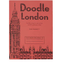 Doodle London Notebook