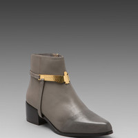 GREY CITY Wisdom Bootie in Iron