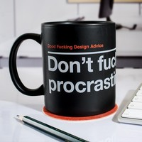 Don't F*cking Procrastinate Mug at Firebox.com