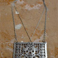 Silver Picado Necklace / Pamela Love