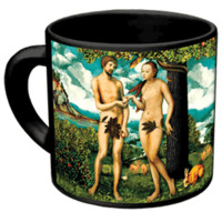 Adam & Eve Disappearing Fig Leaf Mug - Whimsical & Unique Gift Ideas for the Coolest Gift Givers