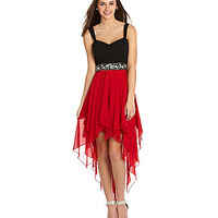 B. Darlin Sweetheart Hi-Low Dress | Dillards.com