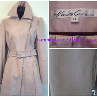 Kenneth Cole Cream Colored Trench Coat from Tammi's Place