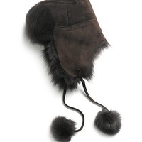 Shearling Trapper - Brooks Brothers