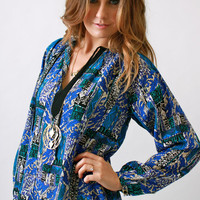 Yumi Kim, Tribal Printed Sydney Blouse