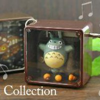 Strapya World : Studio Ghibli My Neigbhor Totoro Petite Music Box Ball Chain (Totoro)