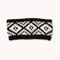 Tribal-Inspired Knit Headband