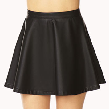 Cool-Girl Skater Skirt
