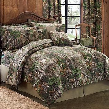 Realtree Xtra Green Comforter Sets and Sheet Sets | Cabin Place
