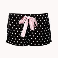 Retro Polka Dot PJ Shorts