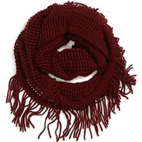 David & Young Open Weave Scarf (Juniors) (Online Only) | Nordstrom