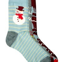 ASOS Novelty Snowman 3 Pack Xmas Cracker Socks