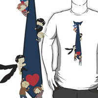 SuperWhoLock Tie T-Shirts & Hoodies