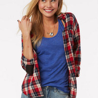 Plaid Envelope Back Shirt