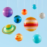 Ceiling Solar System Kit in Hanging Décor | The Land of Nod