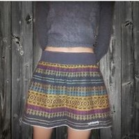Billabong Aztec Surfer Skater Skirt