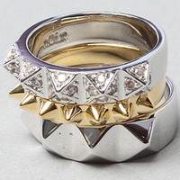 Karmaloop.com - Global Concrete Culture - The Stacked Stud Ring by nOir