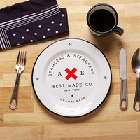 Best Made Company — Seamless & Steadfast Enamel Steel Plates (Set of Two & Six)
