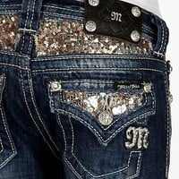 Girls-Miss Me Boot Jean