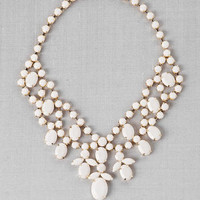 Carnaby Street Statement Necklace in Ivory