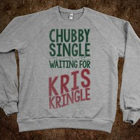 CHUBBY, SINGLE, AND WAITING FOR KRIS KRINGLE