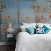 Mr Perswall - Communication - Patina - Ageing With Beauty Wall Mural - Wallpaper