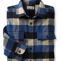 Bean's Chamois Cloth Shirt, Plaid: Flannel, Chamois and Lined   Free Shipping at L.L.Bean