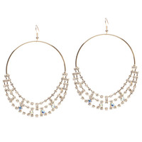 ShoeDazzle Glam It Earrings