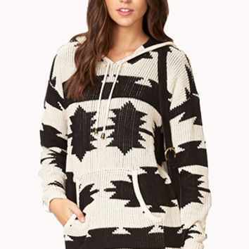 Desert Night Hooded Sweater