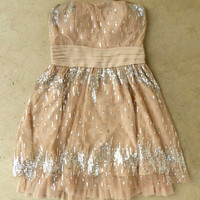 Champagne Fizz Party Dress