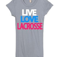 Junior's Live Love Lacrosse Shirt