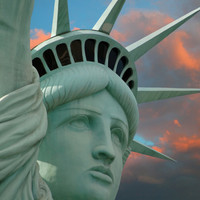 Lady Liberty Photographic Print by Philippe Sainte-Laudy at Art.com