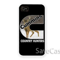 Cummins Country Hunters - iPhone Case - iPhone 4 iPhone 4s - iphone 5 - Samsung S3 - Samsung S4
