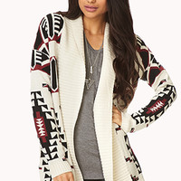 On The Range Open-Front Cardigan