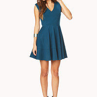 Sophisticated Fit & Flare Dress