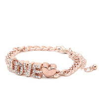 With Love From CA Love Chain Bracelet at PacSun.com