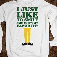 I JUST LIKE TO SMILE HOODIE