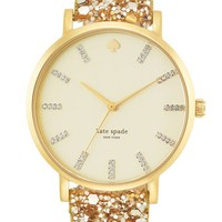 kate spade new york 'metro grand' boxed watch set | Nordstrom