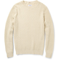 Gant Rugger Cable-Knit Sweater | MR PORTER