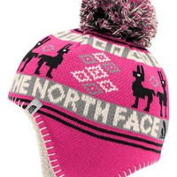 The North Face 'Baby Llama' Beanie (Baby Girls) | Nordstrom