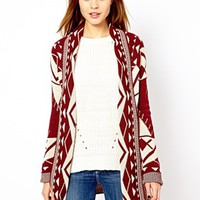 A Wear Geo-Tribal Cardigan